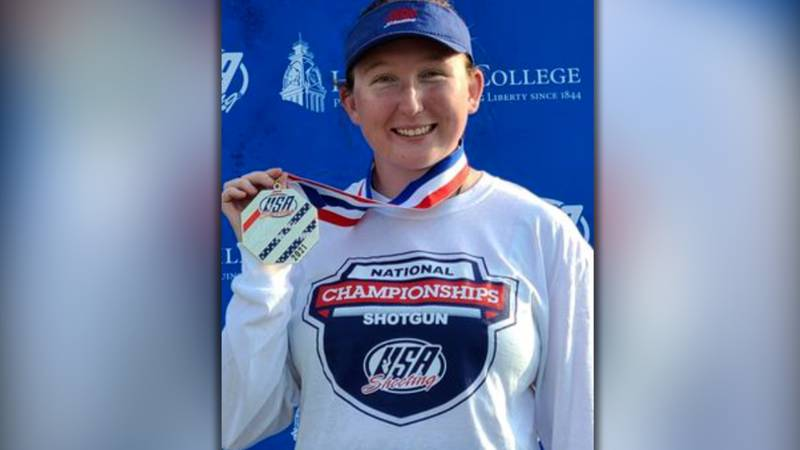 17-year-old Ryann Phillips recently won the USA Shooting Women's Olympic Trap National...