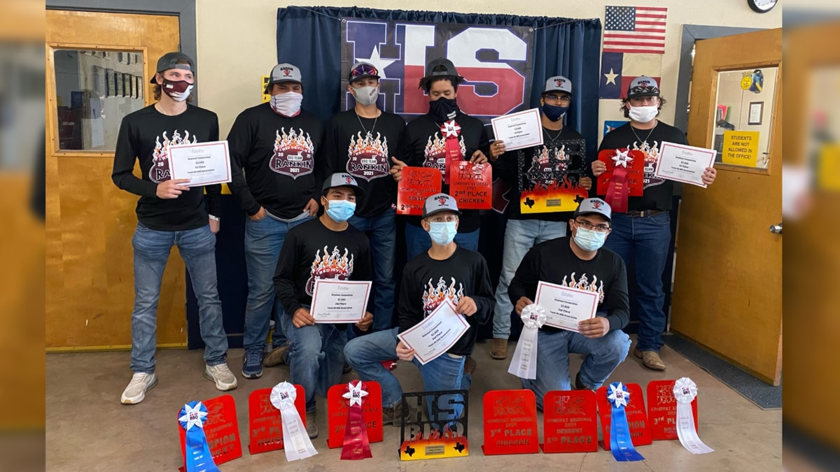 60 teams around Texas will be competing in the Texas State High School barbeque competition,...