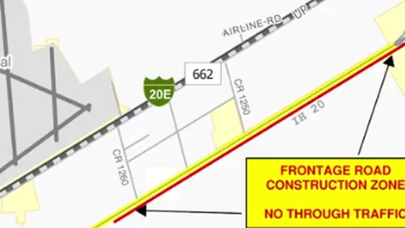 Construction of a new overpass begins Monday