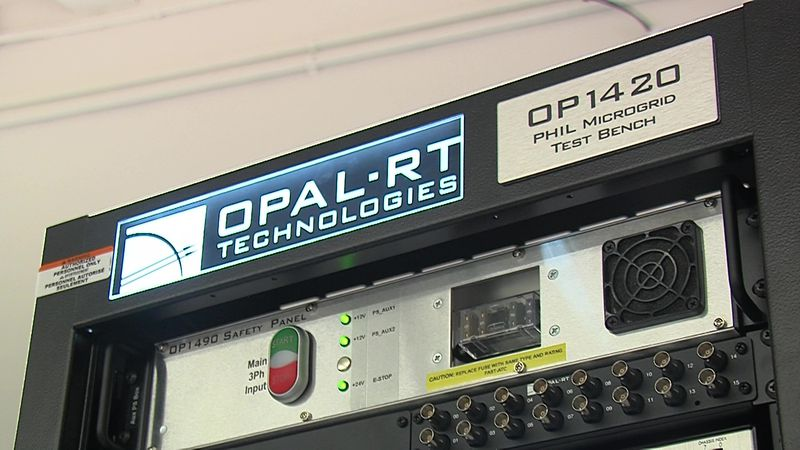 Equipment at UTPB's Department of Electrical Engineering.