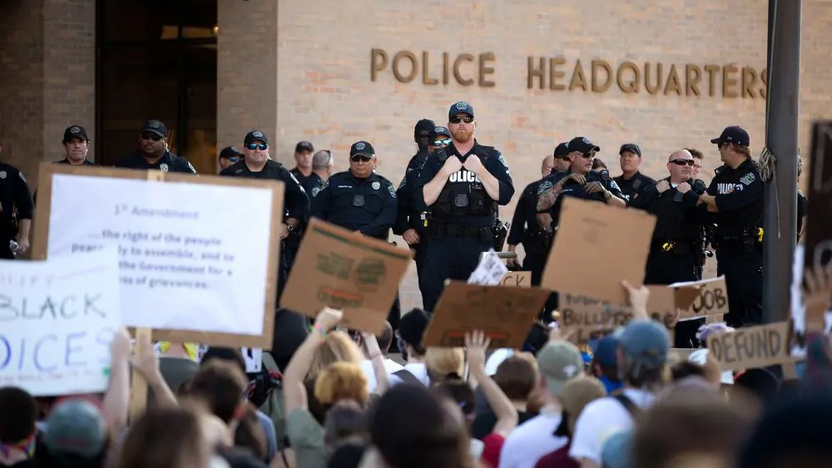 The Austin City Council on Thursday voted to cut the police department's budget by tens of millions of dollars.
