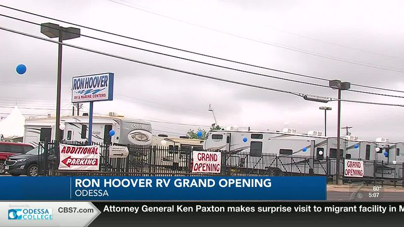 Ron Hoover RV & Marine Centers grand opening