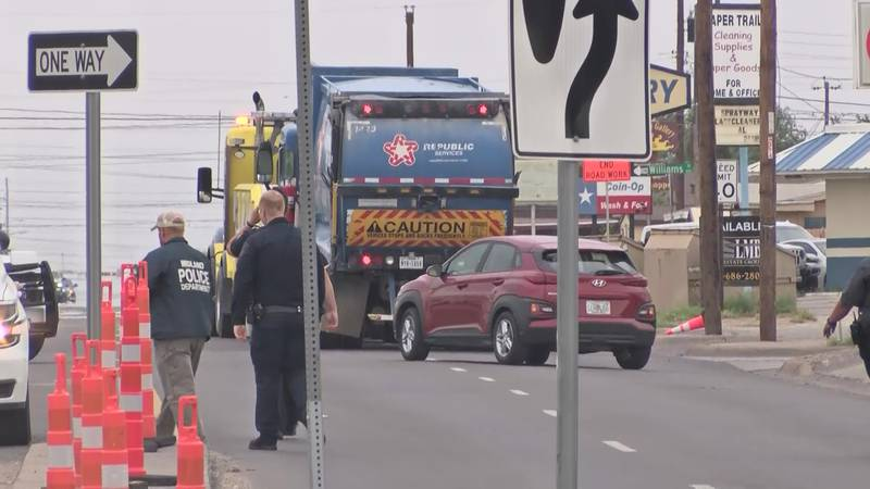 Midland police responded to a deadly auto-pedestrian crash along South Midkiff Road on Monday...
