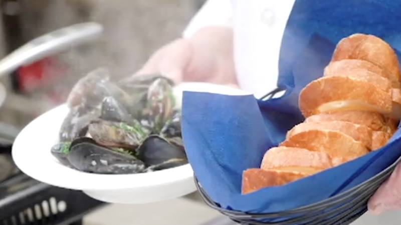 Odessa College Chef Victor Bagan shows us how to make Mussels With White Wine Sauce. Chef Bagan...