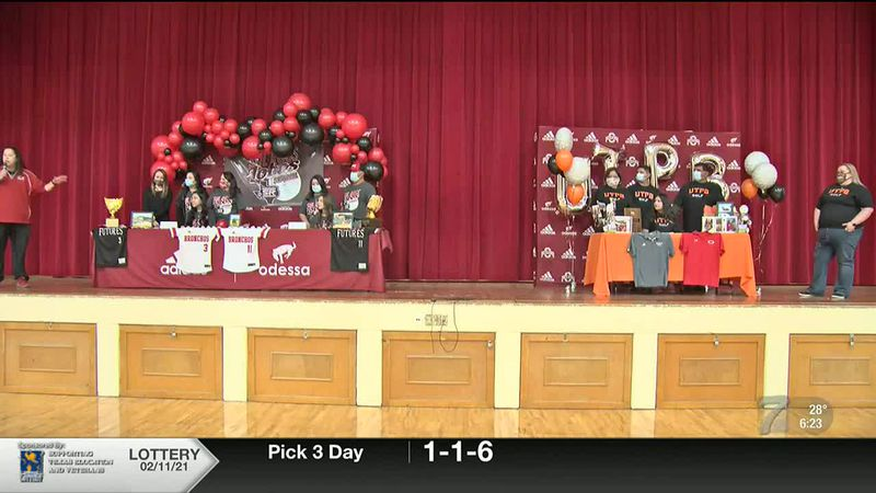 Trio of Odessa High athletes sign with college programs