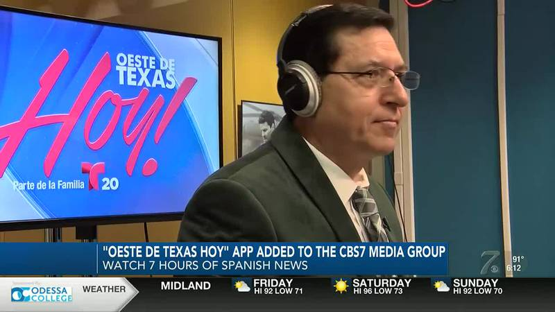Oeste de Texas Hoy! app launches for Spanish news in West Texas