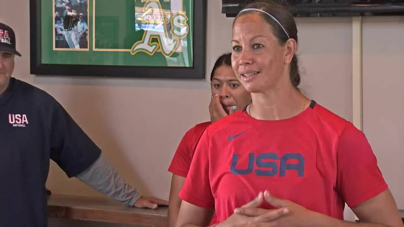 United States pitcher Cat Osterman