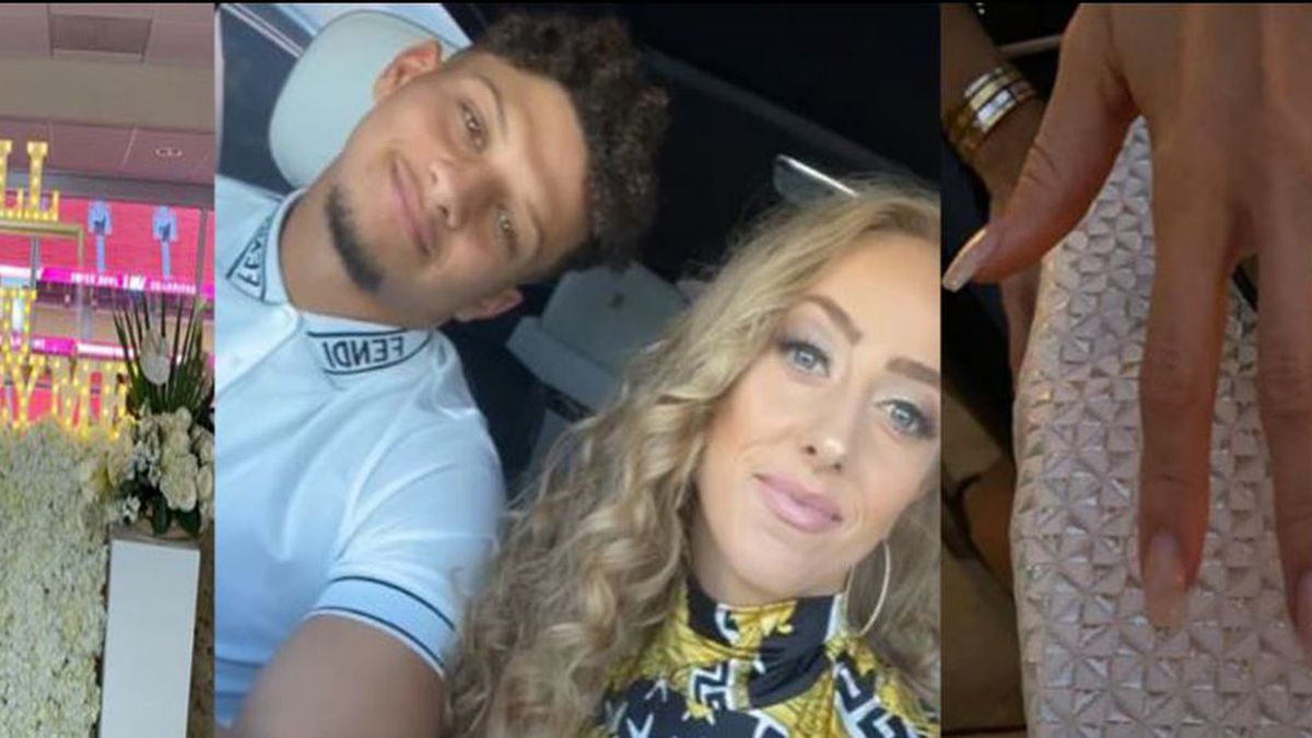 Patrick Mahomes and Brittany Matthew have announced they're having a girl.