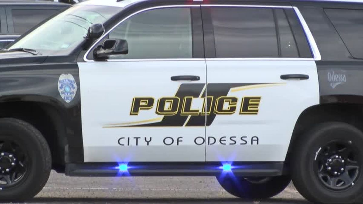 Odessa Police Department vehicle. (CBS 7 File Photo)