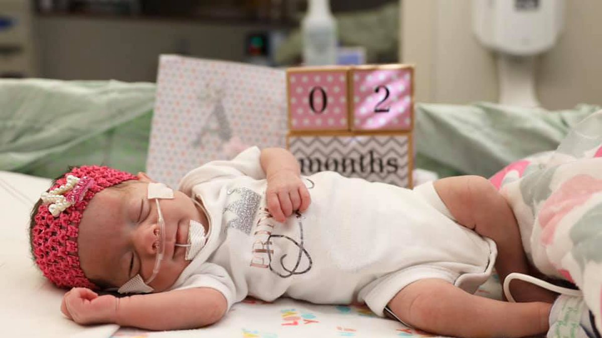 Five baby girls who were born at Odessa Regional Medical Center earlier this year are all doing...