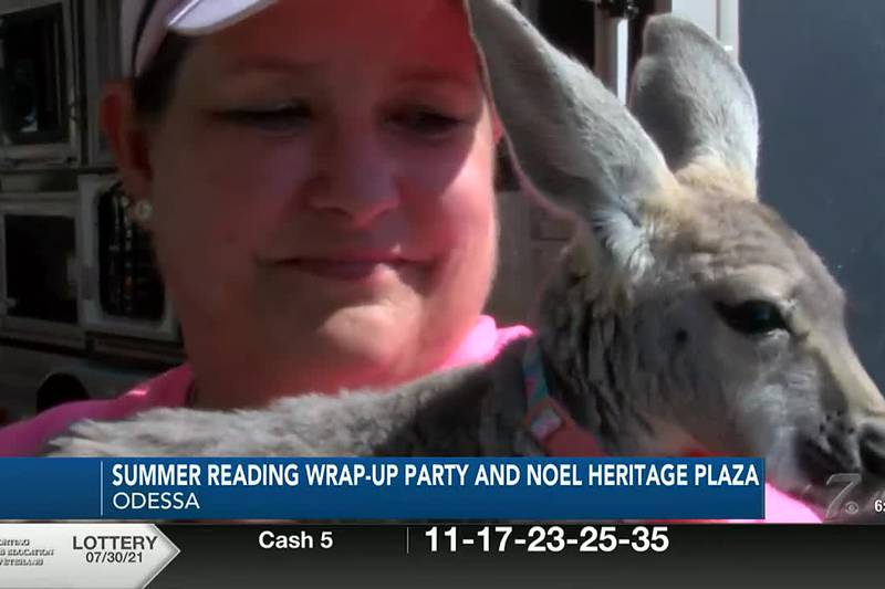 Ector County Library Wrap Up Party