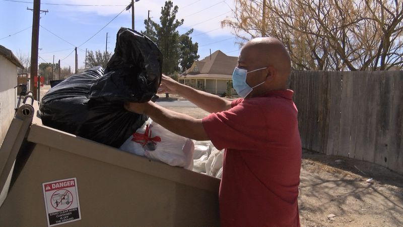 Residents all over town have seen trash gushing out of their bins for weeks, and the city is...
