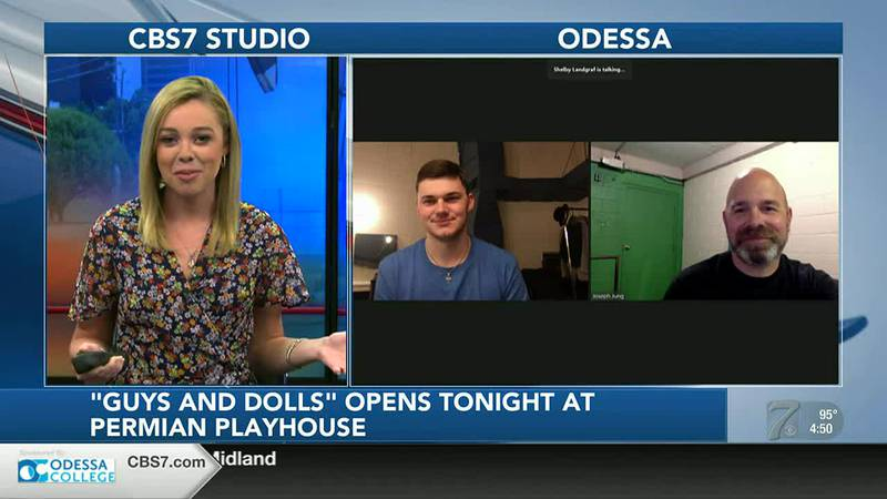 """INTERVIEW: """"Guys and Dolls"""" opens Friday night at Permian Playhouse"""