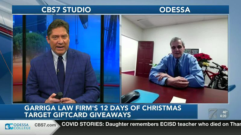 Garriga Law Firm 12 Days of Christmas