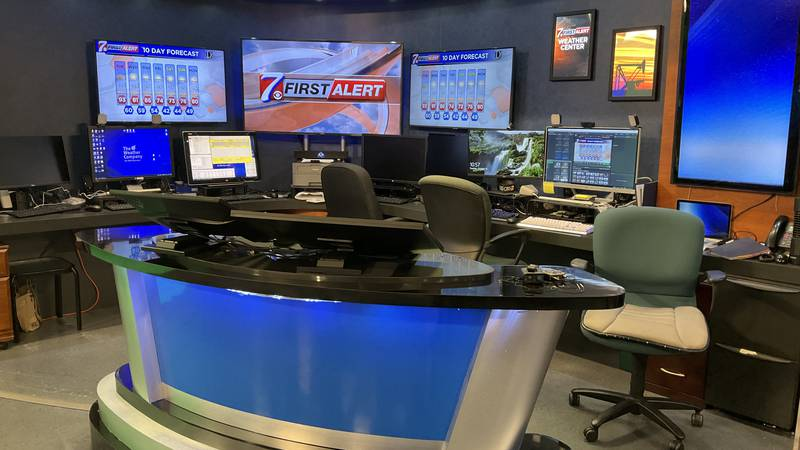 The CBS7 First Alert Weather Station.