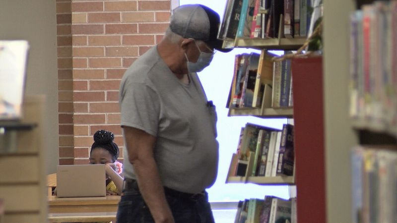 A rotten egg smell has been plaguing the library, but whether repairs are in store in still a...