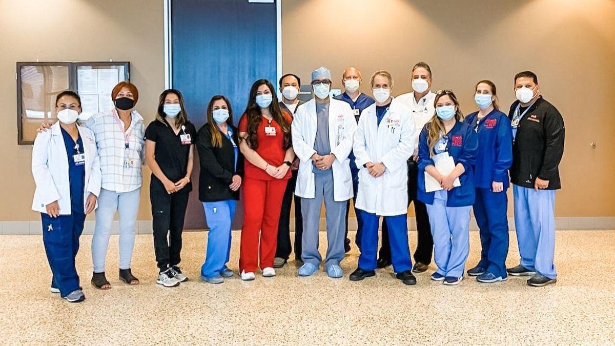 Members of Medical Center Hospital's heart failure team.