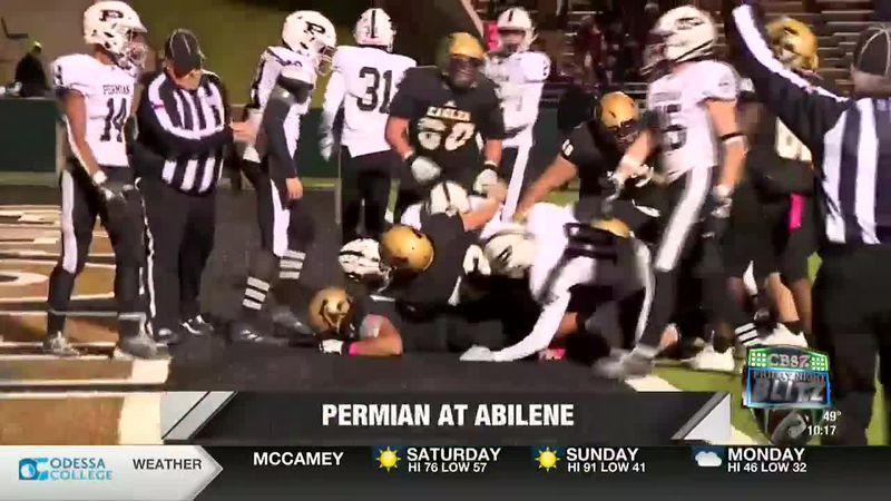 Abilene defeats Permian 27-25.