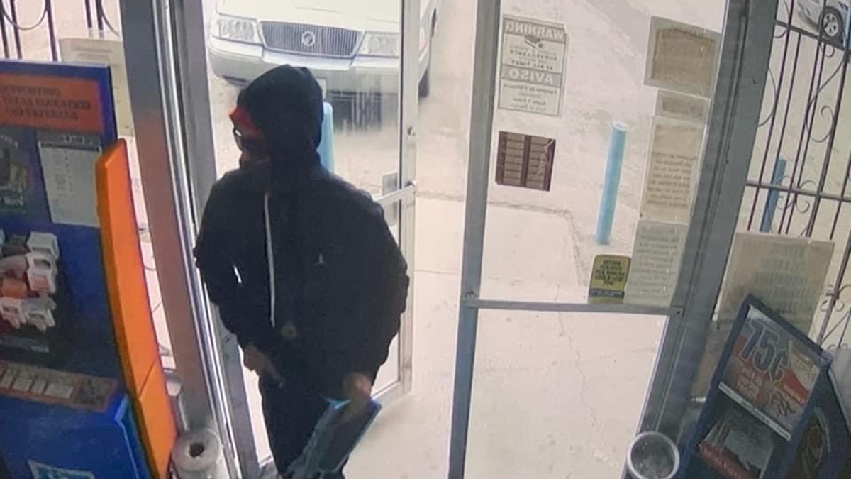 Odessa police say this suspect robbed the N-N-Out on West 10th Street Wednesday morning.