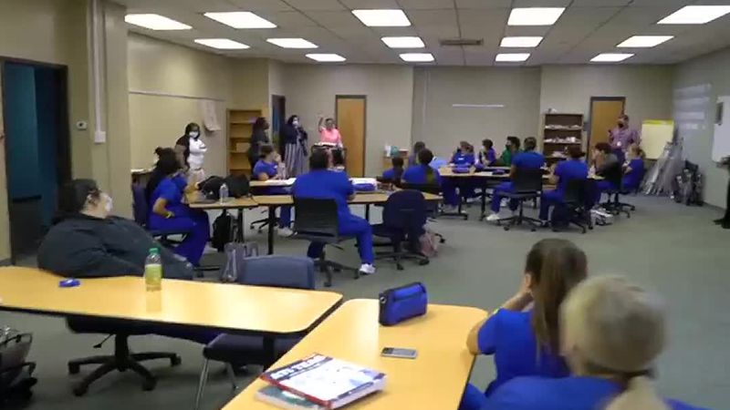 OC students surprised by role model