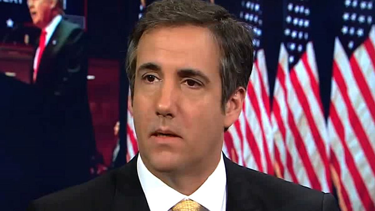 Michael D. Cohen, the American attorney who worked as a lawyer and spokesperson for U.S. President Donald Trump. (Photo: CNN)