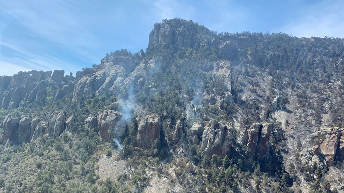 Hot spots still burn in several areas, including in Upper Juniper Canyon. Some of these areas...