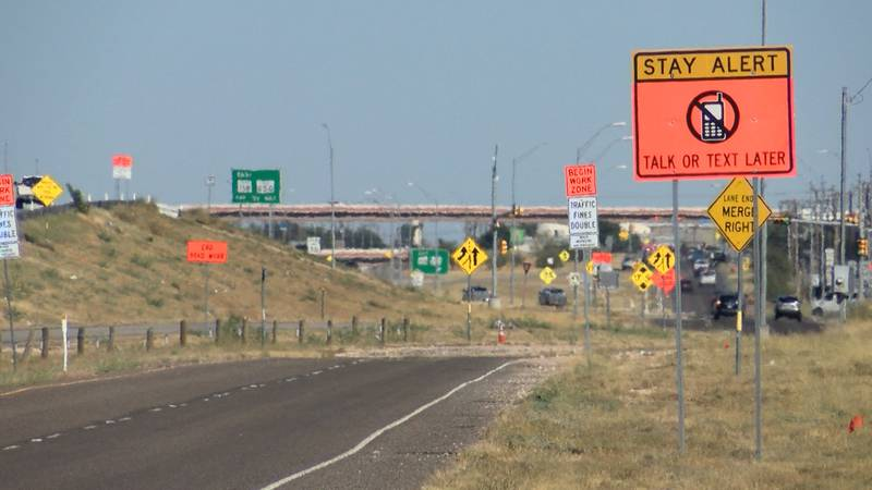 Coinciding traffic projects will create headaches for drivers traveling between Midland and...