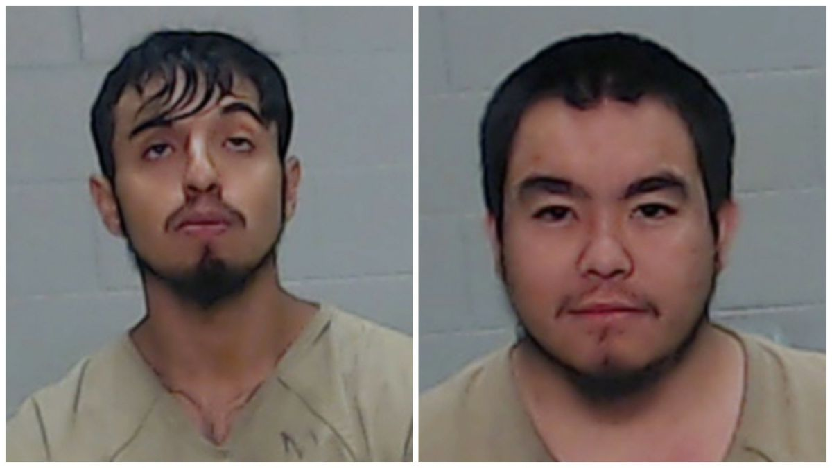 Peter Anthony Armijo, 22, and Fabian Francisco Gutierrez, 22. (Mugshots courtesy of the Odessa Police Department)