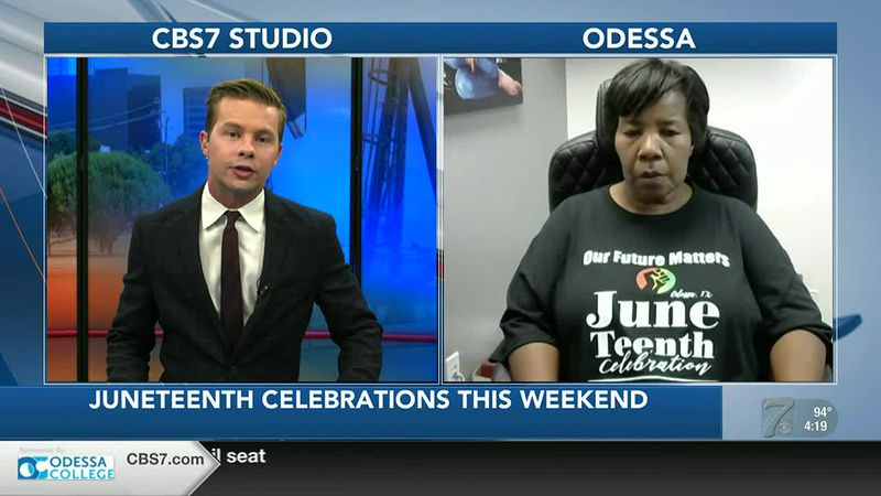 INTERVIEW: Juneteenth celebrations being held across Odessa this weekend