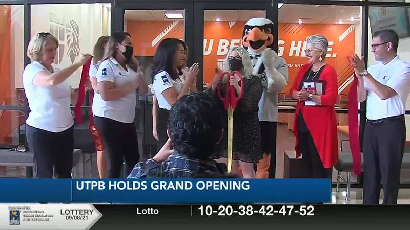 UTPB holds grand opening for Welcome Center