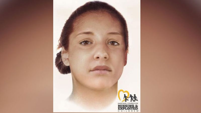 The National Center for Missing & Exploited Children created a sketch of what the woman may...