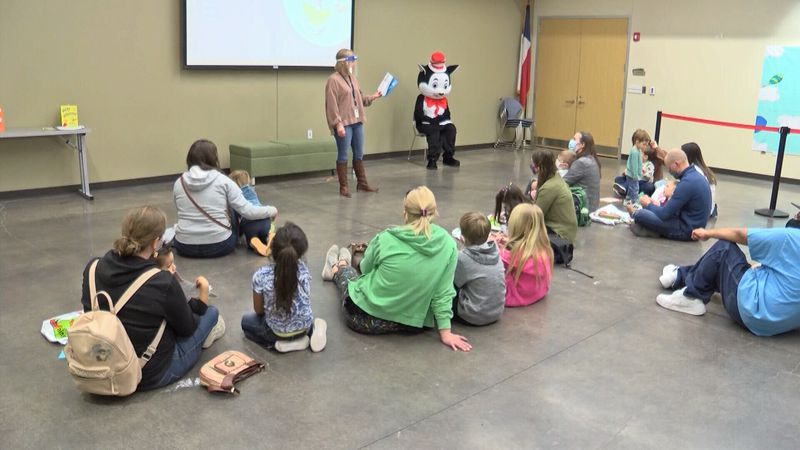 Families were invited to the Midland County Centennial Library to jump into the wild world of...