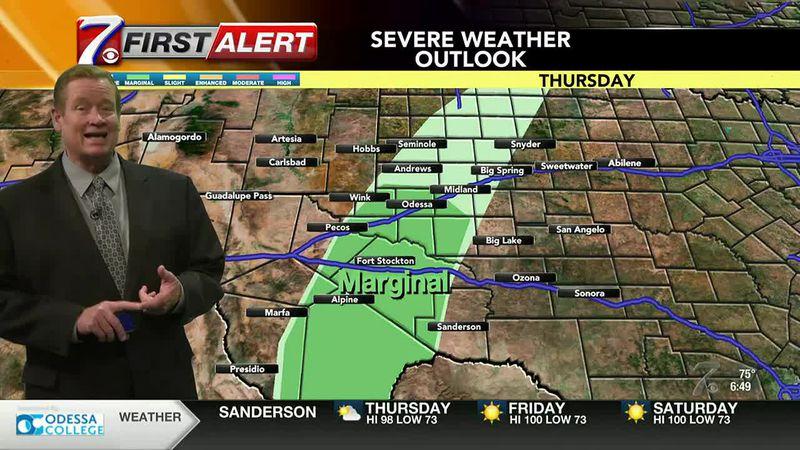 West Texas Weather Forecast 6 10