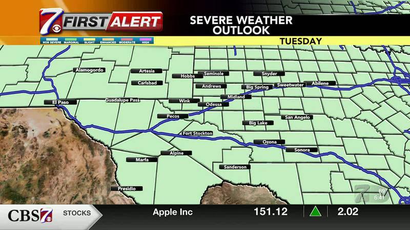 CBS7 Weather Forecast 8/17