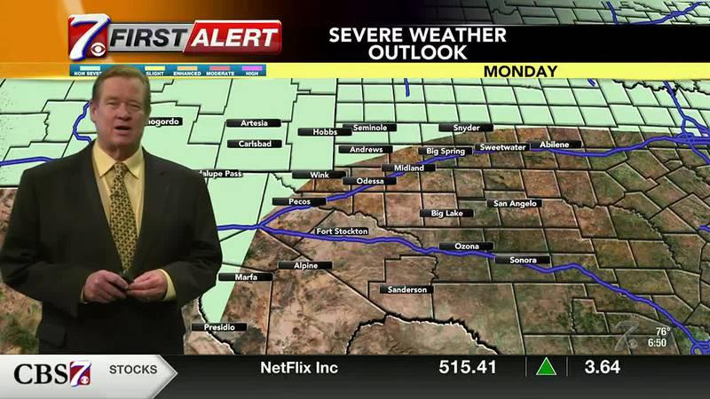 West Texas Weather Forecast 7/26