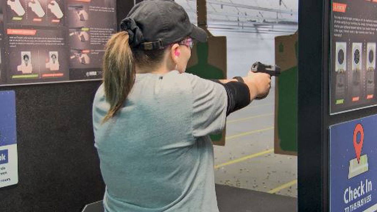 Gun safety classes see an increase after West Texas mass shooting.