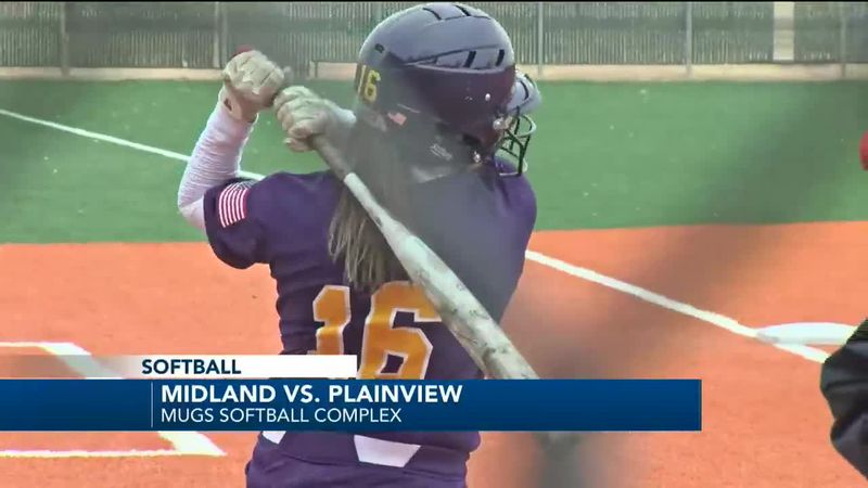 Midland High softball
