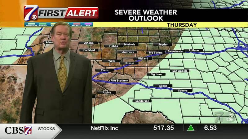 West Texas Weather Forecast 8/5