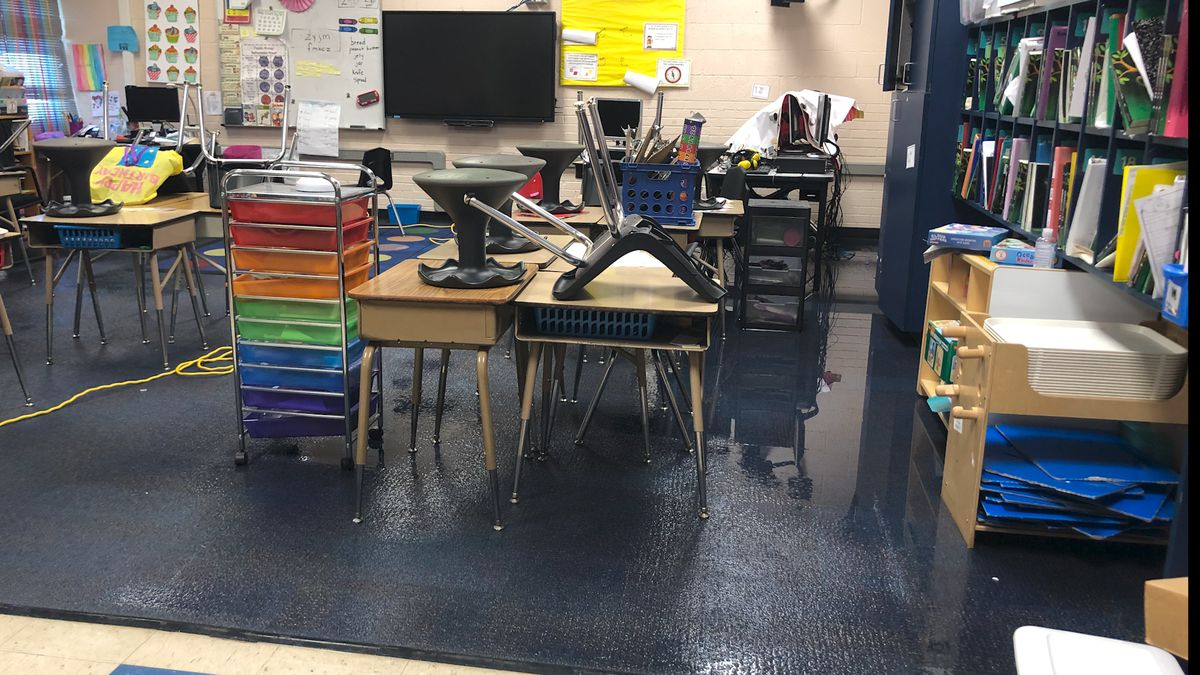 Several Midland ISD campuses have discovered leaks and water damage as a result of freezing...