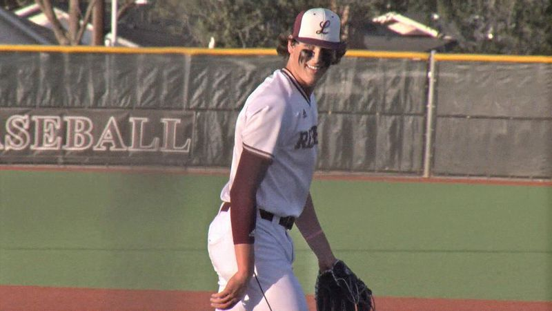 Midland Lee pitcher Chase Shores