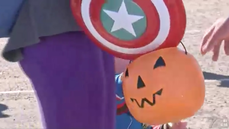 Trick-or-treat event takes over the Ector County Coliseum.