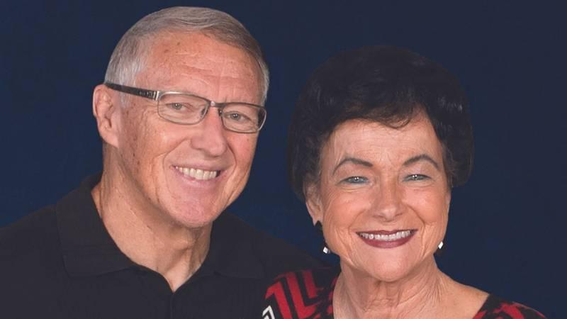 John and Carol Bushman.