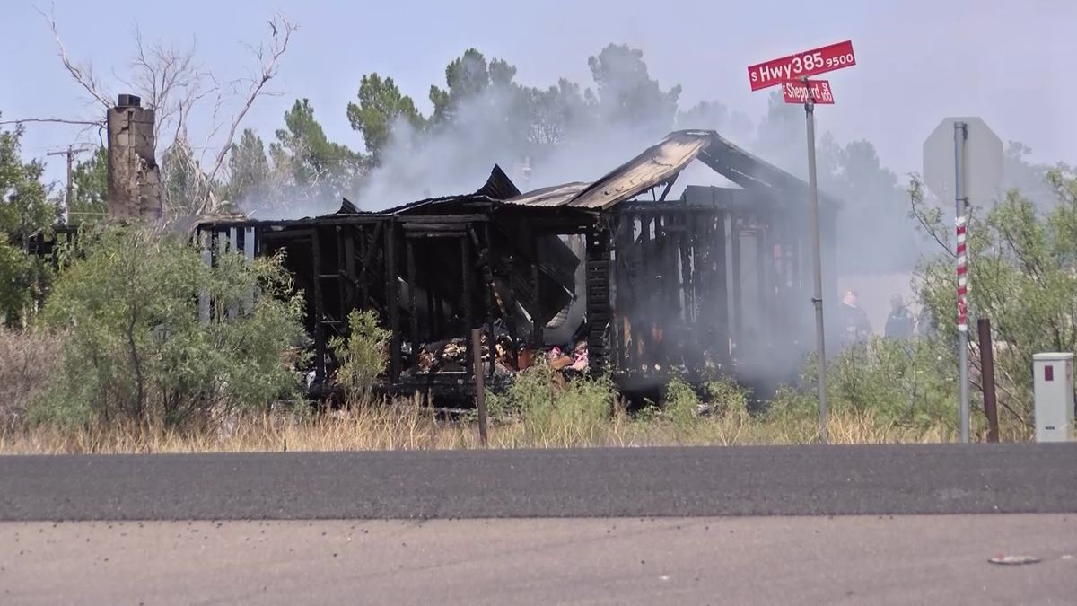 Authorities are working to find out what started the fire that destroyed a home in Ector County on Friday.