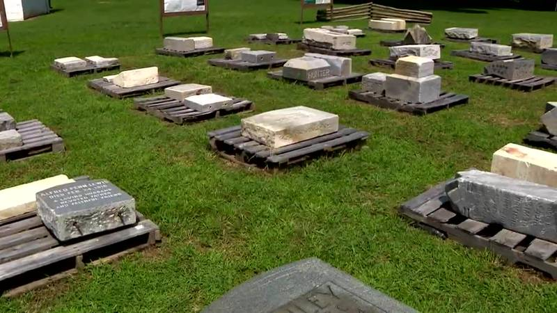 Discarded headstones from a Black cemetery in Washington, D.C., are getting a new home.