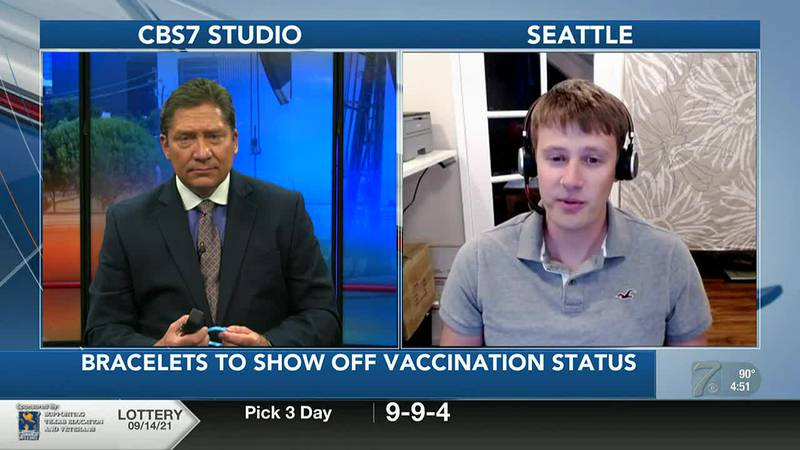 INTERVIEW: Bracelets show off vaccination status