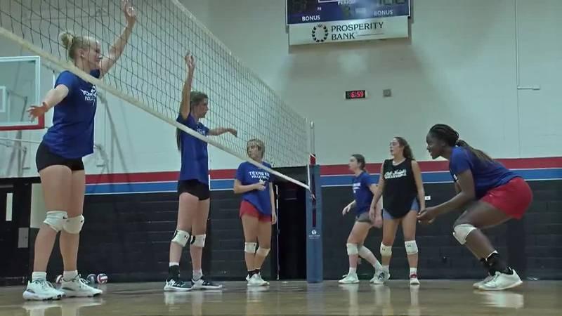 Texas 432 volleyball