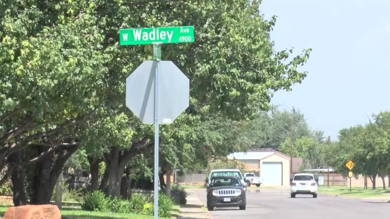Wadley Avenue in Midland.