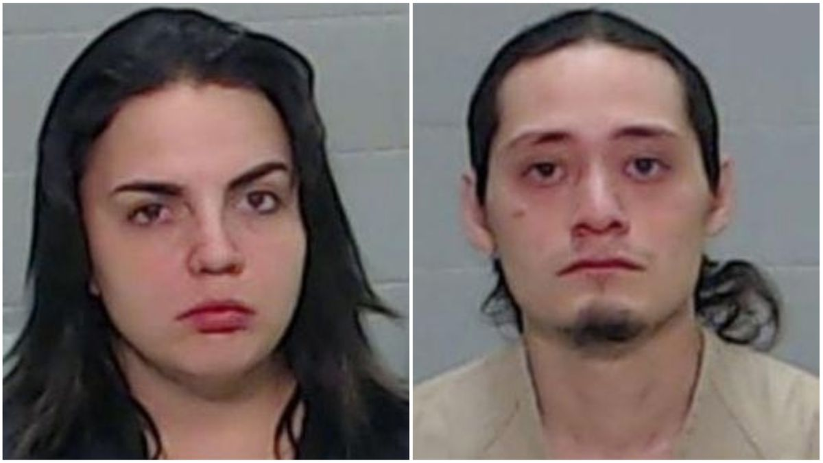 Kiarra Madrid, 23, and Damian Cortes, 22. (Mugshots courtesy of the Ector County Detention Center)