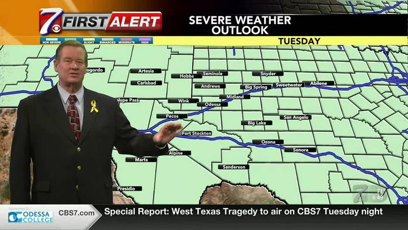 West Texas Weather Forecast 8/31