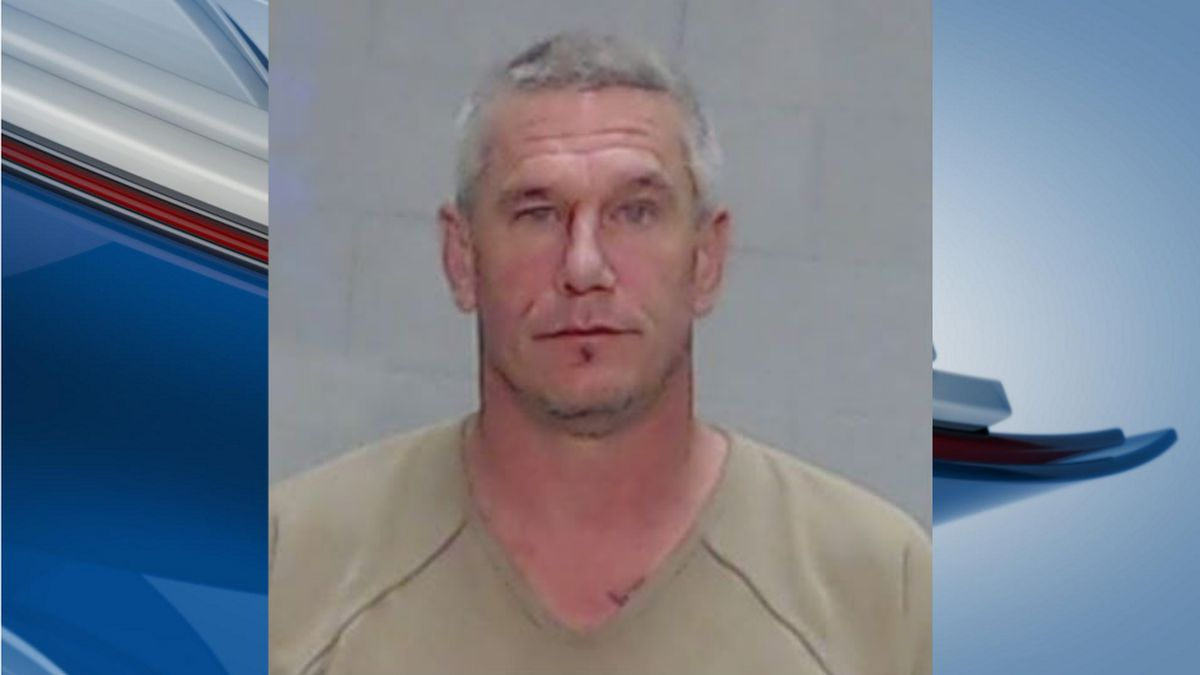 Bryan Madsen, 48. (Mugshot: Ector County Sheriff's Office)